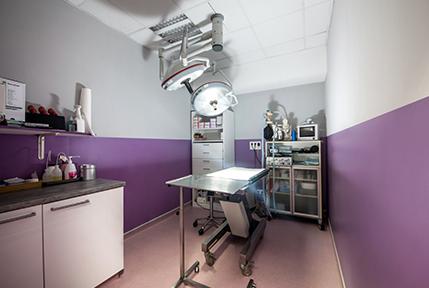 Le pôle chirurgie